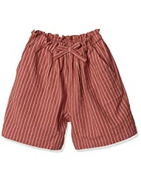 成衣 女孩 腰围 丝带 圆点 格子 条纹 棉 短裤 MN0SSPT214