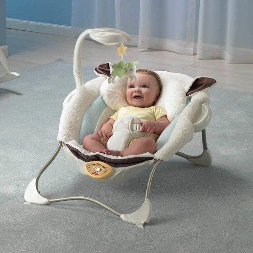Fisher Price 费雪 P2792 安抚小羊羔婴儿椅 244元包邮