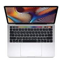 Apple MacBook Pro 15.4英寸笔记本电脑 配备Touch Bar和Touch ID 2.2GHz 六核第八代 Intel Core i7 处理器 16GB 256GB固态硬盘 MR962CH/A 银色【2018新款】