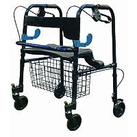 Drive Medical Clever Lite Walker Rollator - 环形制动器和翻转座椅