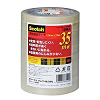 3M 3M 思高 透明胶带 10卷 12mm×35m 芯 76mm 500-3-1235-10P