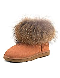 Ausland 女式短款雪地靴99251