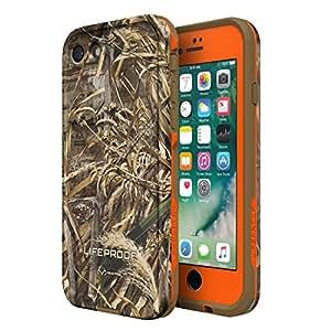 LifeProof frē 系列防水保护套适用于 iphone 8& 7仅)–零售包装 (BLAZE ORANGE/BLACK/REALTREE MAX 5)