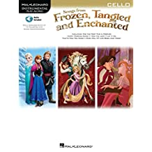 Songs from Frozen, Tangled and Enchanted - Cello Songbook (Hal Leonard Instrumental Play-along) (English Edition)