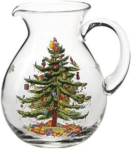 斯波德圣诞树玻璃壶 透明