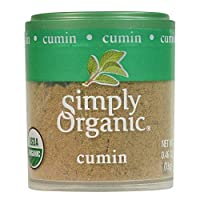 Simply Organic Ground Cumin Seed,*认证| 0.46盎司| cyminum L