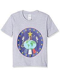 Brands In Limited Girl's NASA Globe 宇航员队 T 恤