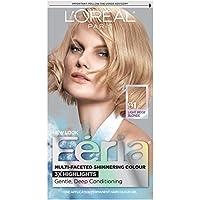 L'Oreal Paris Feria Multi-Faceted Shimmering Color, 91 Light Beige Blonde