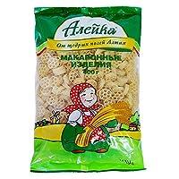 Aieuka艾利客 通心粉 400g*4袋 (俄罗斯进口) (菊花型)