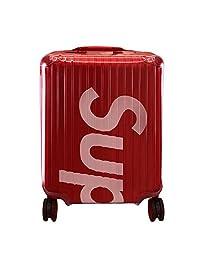 RainVillage 行李箱盖保护透明 PVC 手提箱保护套带拉链开合 Topas 和 Supreme Rimowa