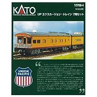 KATO N轨距 UP X-KAGE ・Train 7节车厢套装 10-706-4 铁道模型 客车
