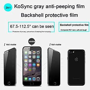 适用于 iPhone 的钢化玻璃膜 iPhone 7/8 Privacy