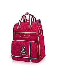 阳光8点时尚小学生书包男休闲学生书包女1-5年级双肩背包旅游包送笔袋2375