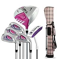 新款POLO高尔夫半套杆 高尔夫球杆 女士套杆 6支球杆配包 练习套装 碳杆身