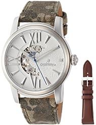 中亚:(新品)意大利 Orobianco TIME-ORA 男士镂空背透皮带腕表 ¥1,280.72