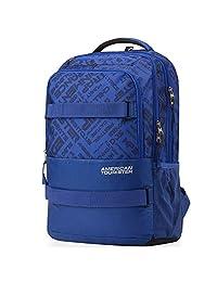 American Tourister 美旅箱包 CASUAL 中性 DODGE双肩包电脑包 38O*11001 海蓝色 26升
