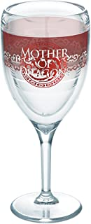 Tervis Game of Thrones - Mother of Dragons 255.14 克无*杯 透明 9oz Wine Glass 1265581