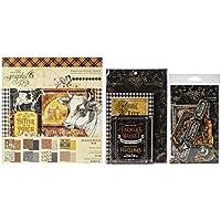 Graphic 45 Farmhouse - 8x8 纸板,卡片模切,蚀刻和信封
