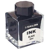 Sailor(写乐)钢笔 钢笔 染料瓶装墨水 50ml 黑色