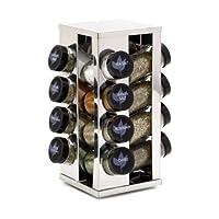 Kamenstein Heritage 16 罐-旋转台面调料架可使用5年