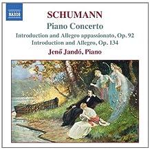 进口CD:舒曼,R.:A小调钢琴协奏曲 引子和快板,作品92和作品134 Schumann,R.:Piano Concerto in a Minor Introduction and A(CD)8.557547