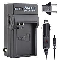 ARCHE 替换奥林巴斯 BLN-1 快速单充电器,适用于奥林巴斯 BLN-1、BCN-1、Pen F、PEN E-P5、OM-D E-M5 Mark II、OM-D E-M1 数码单反相机。