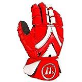 Warrior Rabil 手套,红色/白色,中号