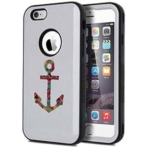 适用于 iPhone 64.7英寸防震耐冲击部落软硅胶硬质 PC 保护套