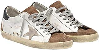 Golden Goose Superstar 男士运动鞋,带麂皮内衬