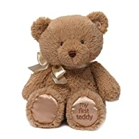 Gund My First Teddy Bear Baby 填充玩具动物,褐色 10 英寸