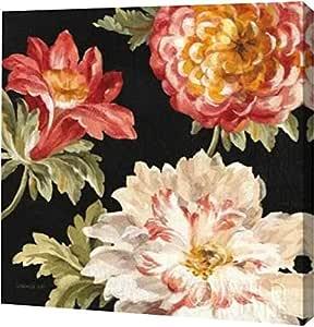 "PrintArt GW-POD-38-13547-12x12""Mixed Floral IV Crop II"" 来自 Danhui Nai Gallery Wrapped Giclee 油画艺术印刷品 24"" x 24"" GW-POD-38-13547-24x24"
