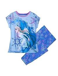 Disney 艾莎女孩睡衣套装 - 冰雪奇缘 2