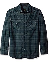 Lee 男式 L 码/袖子纽扣衬衫