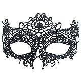 BaiYunPOY 面具蕾丝,女式化妆舞会威尼斯面具,适合嘉年华派对