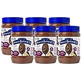 Peanut Butter & Co. 不含麸质,纯素花生酱,黑巧克力梦,16 盎司(约 453.6 克)/罐(6 罐装)