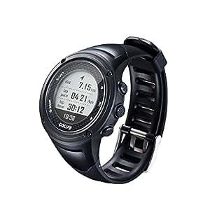 Spedal Running GPS 手表适用于 Golife,兼容 iOS 和 Android,5ATM 防水,户外智能运动手表,男式铁人三项游泳攀岩登山自行车和跑步 X-Pro-Black