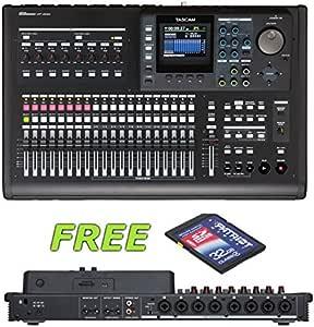 Tascam DP-32SD 32 轨数字播放器,带免费赠送爱国者 32GB SD 卡