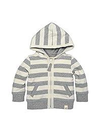 Burt's Bees Baby Baby Organic Zip Front Hooded Jacket