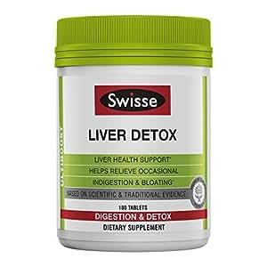 Swisse, Ulboost, liver detox, 消化与排毒, 180片