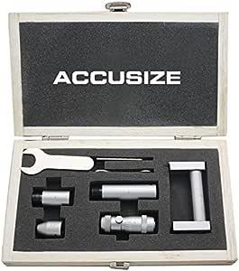 Accusize Tools - 2-6 英寸内微米套装,0.001英寸增压,3011-2051