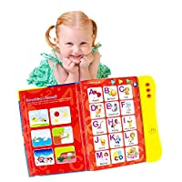 ABC Sound Book For Children/English Letters & Words Learning Book, Fun Educational Toy. Learning Activities for Letters, Words, Numbers, Shapes, Colors and Animals for Toddlers