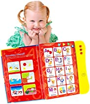ABC Sound Book For Children/English Letters & Words Learning Book, Fun Educational Toy. Learning Activitie