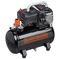 黑色 + DECKER BD 195/ 12NK 空气压缩机230V 黑色