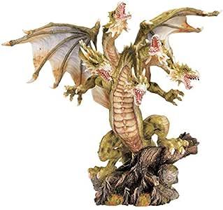 Design Toscano WU71178 12 in. Lysander the Five-Headed Dragon Sculpture