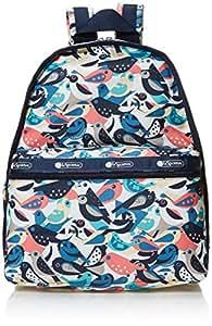 Lesportsac 女式 Classic系列防泼水时尚旅行双肩包 7812E178 白色/绿色/红色/蓝色/黄色 38 * 32 * 19cm