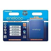 松下 eneloop AAA Ready to 使用 AAA Ni-MH 电池 bk-4mcce / 4be