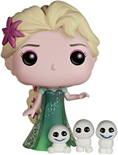 Funko POP Disney:《冰雪奇緣:生日驚喜》艾爾莎可動人形玩具