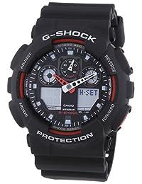 【跨境自营】G SHOCK-Casio 卡西欧 石英男士手表 GA-100-1A4(包邮包税)
