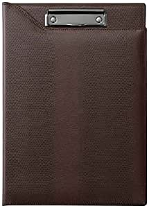RAYMAY藤井 夹子文件夹 ZETOBECTER A4サイズ 深棕色