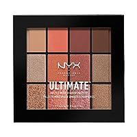 NYX 专业化妆终极多层眼影调色板 0.48 Ounce